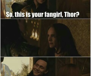 funny, Marvel, and tom hiddleston image