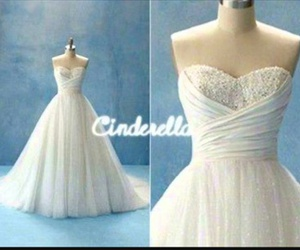 cinderella, dress, and wedding dress image