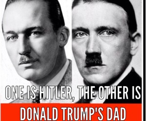 dad, funny, and hitler image
