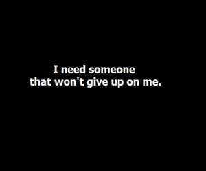 quotes, text, and give up image