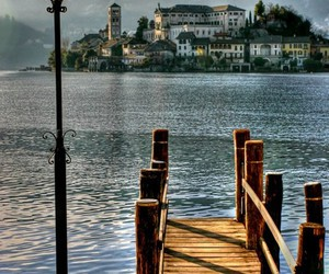 italy, lake, and photography image