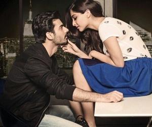bollywood, kiss, and sonam kapoor image