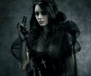 gothic, dark, and fantasy image