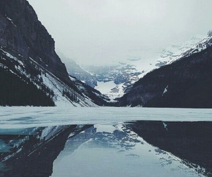 mountains, winter, and nature image