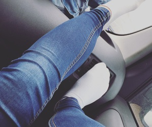car, cold, and legs image