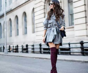 brunette, shoes, and style image