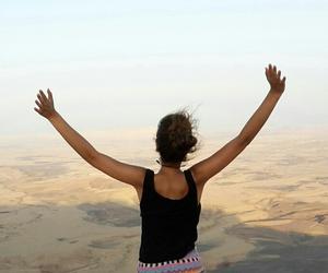 desert, israel, and freedom image