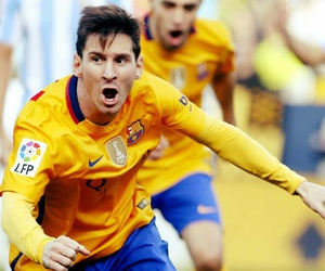 sports, fcbarcelona, and messi image