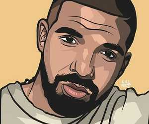 Drake, draw, and dude image