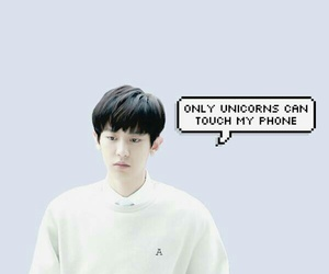 exo, wallpaper, and park chanyeol image