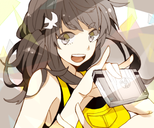 girl, kawaii, and smile image