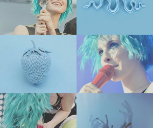 background, blue, and hayley williams image