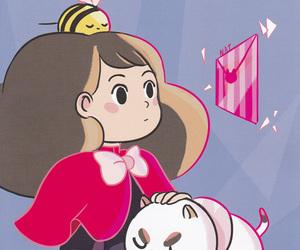 cartoon, natasha allegri, and puppycat image
