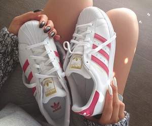 adidas, beauty, and gold image