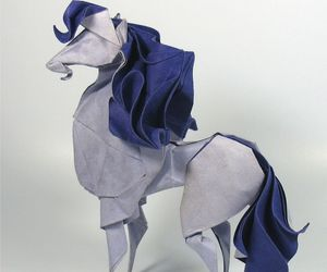 origami and horse image