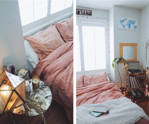 bedroom, bohemian, and cosy image