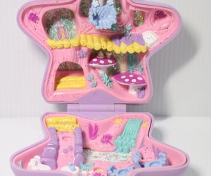 polly pocket and stars image