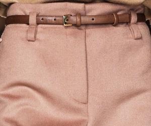 fashion, pink, and belt image