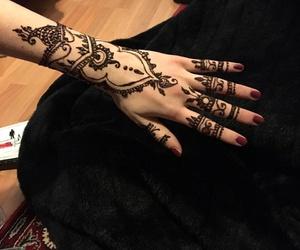 henna, henna tattoo, and tatto image