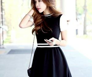 beauty, stylé, and korean girl image