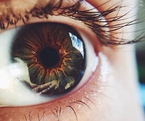 eye, reflection, and body. image