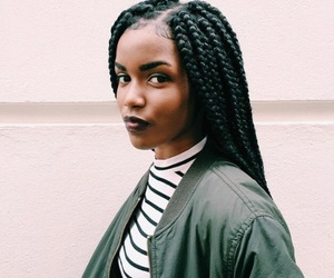 braids, style, and outfit image