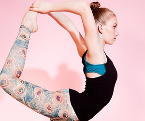 yoga, fitspo, and yoga fashion image