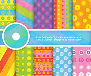 etsy, printable papers, and digital papers image
