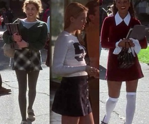 90s, Clueless, and fashion image