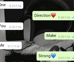strong, whatsapp, and conversacion image