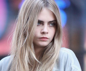 cara delevingne, model, and blonde image