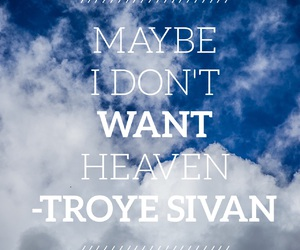 heaven, troye sivan, and blue neighbourhood image