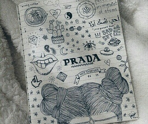 doodles, drawings, and quotes image