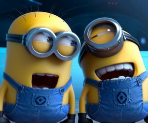 minions, yellow, and smile image