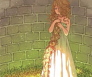 art, rapunzel, and anime image