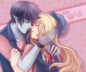 adventure time and couple image