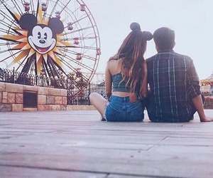 love, couple, and disney image