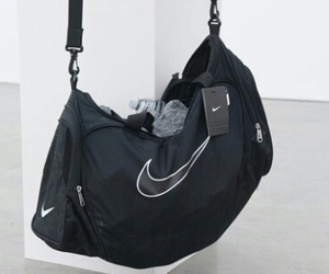 nike, black, and bag image