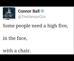 the vamps and connor ball image