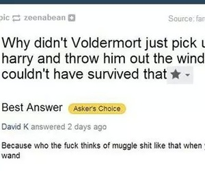 funny, harry potter, and Yahoo image