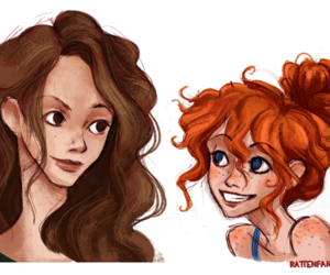 harry potter, hermione granger, and rose weasley image