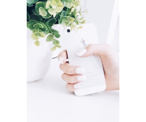 inspo, iphone, and nails image