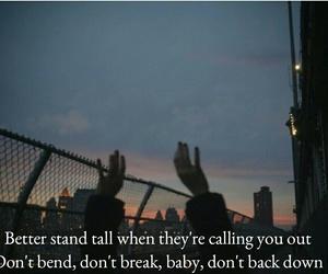 Lyrics, it's my life, and song image
