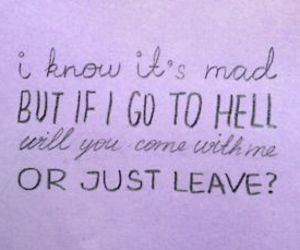 Lyrics, panic! at the disco, and will you coome with me? image