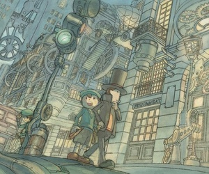 professor layton and luke triton image