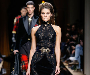 Balmain, Isabeli Fontana, and fashion image