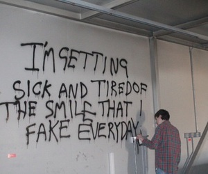 grunge, quotes, and fake image