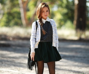 fashion inspiration, preppy, and preppy fashion image