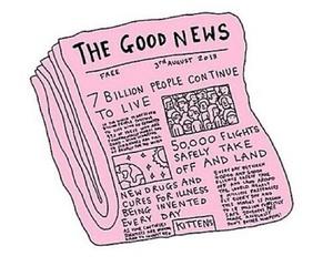 overlay, news, and pink image