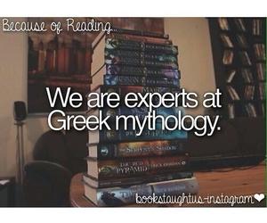 greek mythology, percy jackson, and rick riordan image